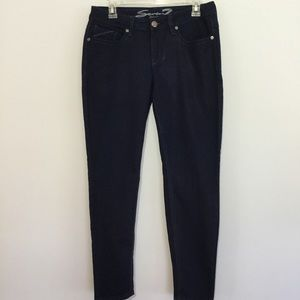 Seven7 Jean Leggings Blue Dark Wash Jeans Size 10